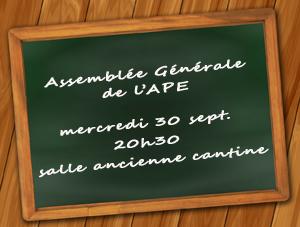 Assemblée Générale des Parents d'élèves de Layrac