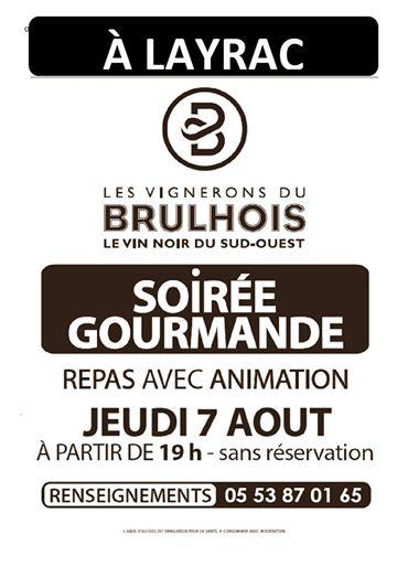 Les vignerons du Brulhois et leur soirée gourmande