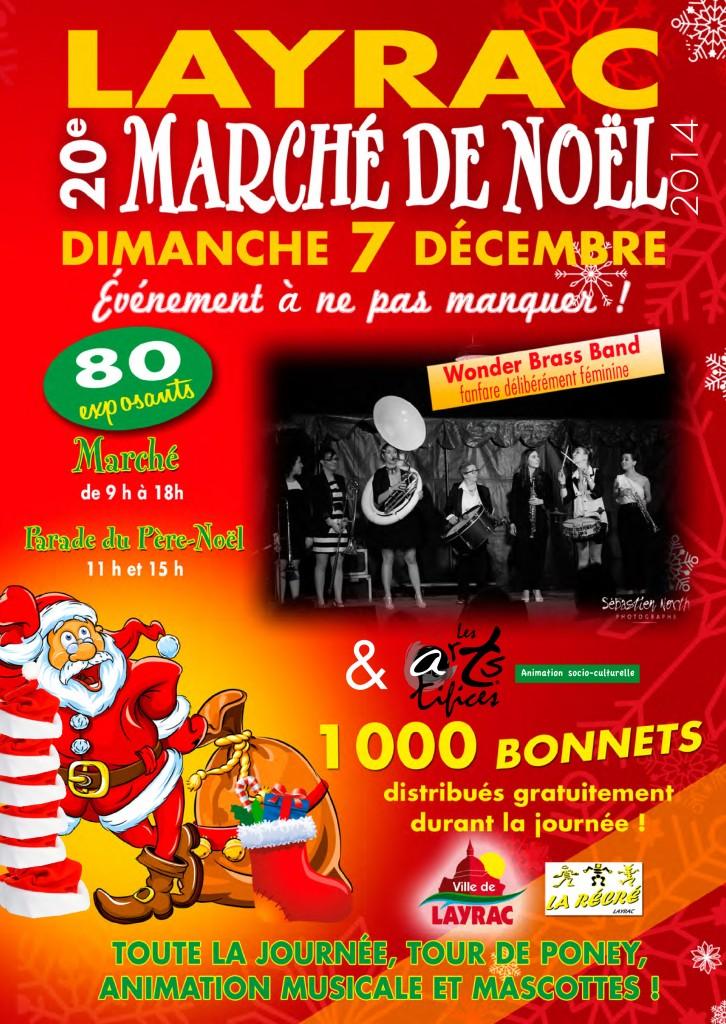 Marché de Noël de Layrac 2014