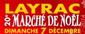 Marché de Noël de Layrac : dimanche 7 décembre 2014