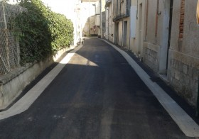 Inauguration des travaux de rénovations des rues de Layrac