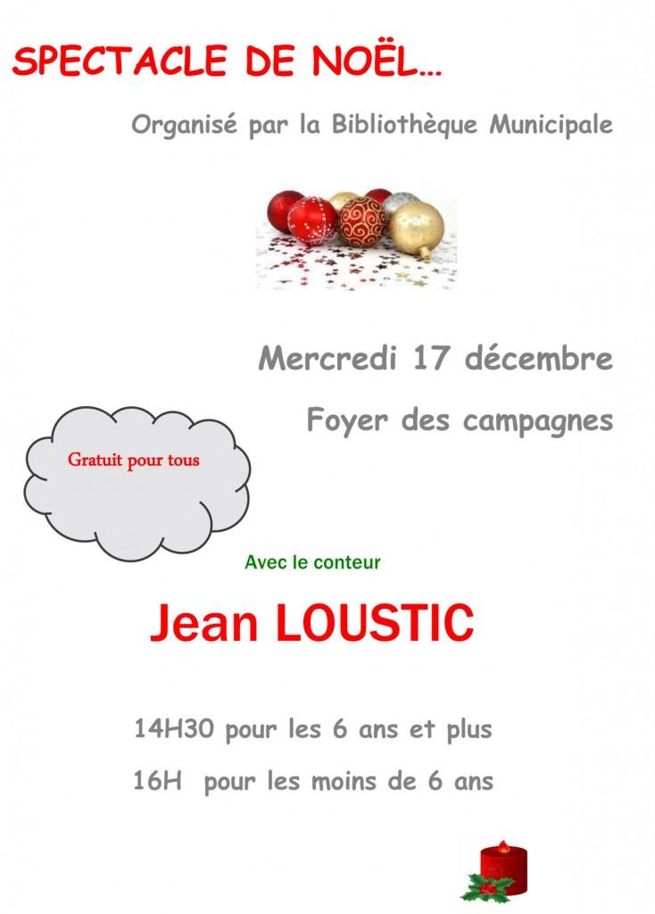 Spectacle de Noël pour les enfants de Layrac
