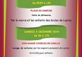 Téléthon à Layrac le 5 et 6 décembre