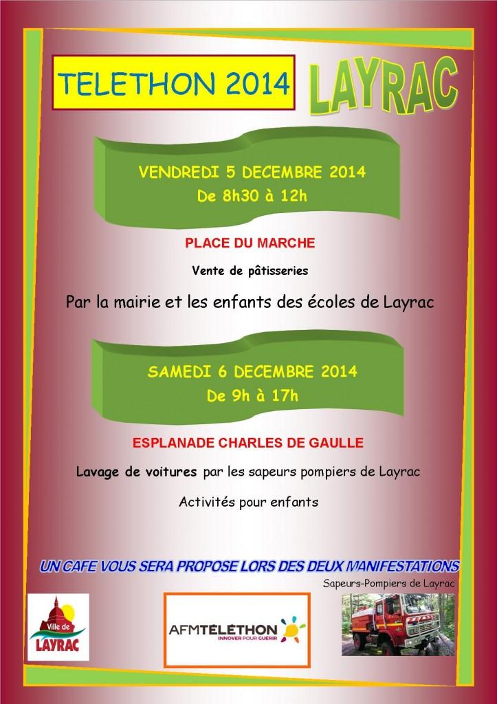 Téléthon 2014 à Layrac