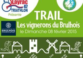 Trail à Layrac le 8 février