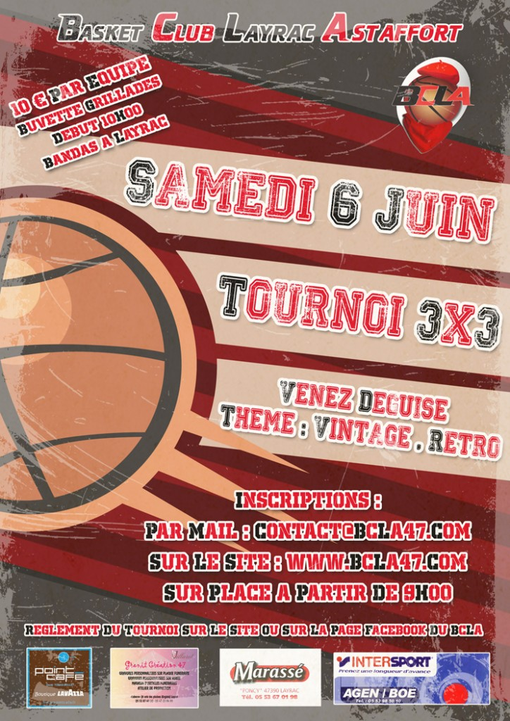 Tournoi de basket 3 contre 3