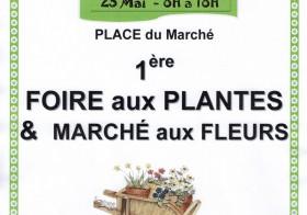 première Foire aux Plantes et Marché aux Fleurs