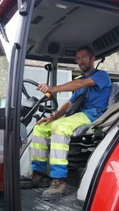 Achat d'un tracteur à Layrac