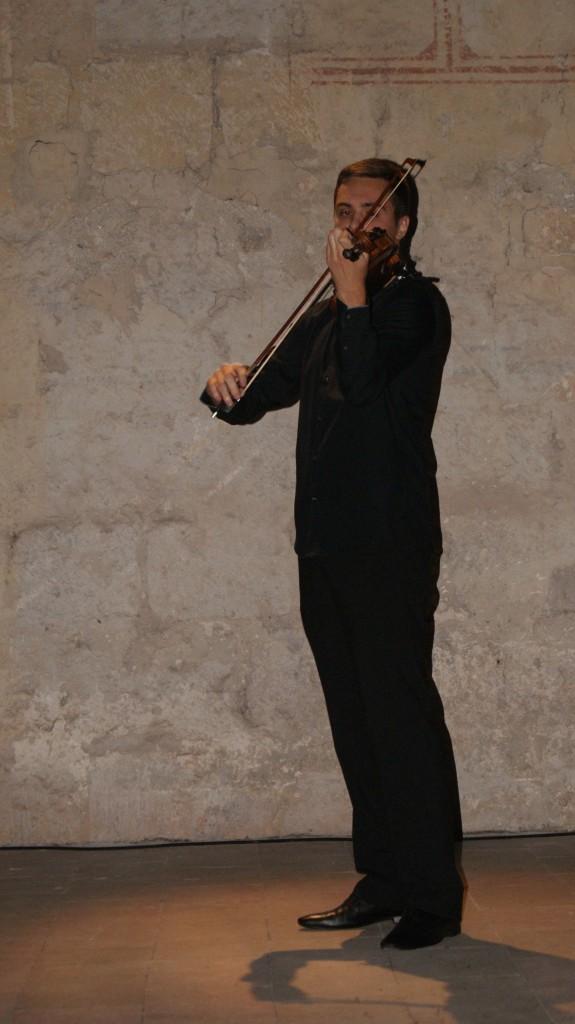 Récital de violon à Layrac