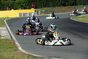 Compétition de karting à Layrac