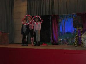 Spectacle de fin d'année pour les enfants layracais