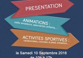 Forum des associations le 10 septembre